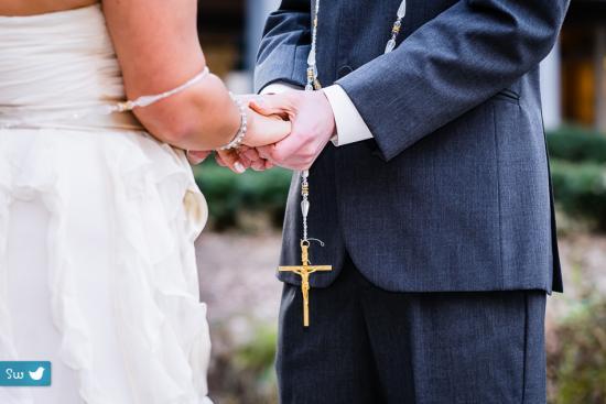 Austin wedding photographer umlauf sculpture garden cross catholic