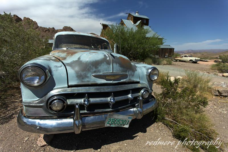 Chevy classic cars in GHOST TOWN