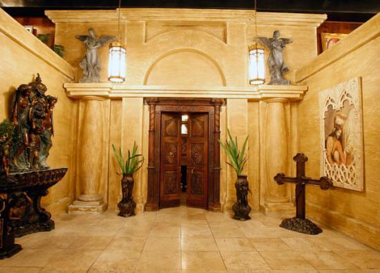 Entre e chapelle