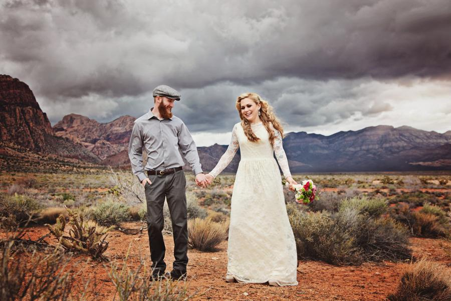 MARIAGE RED ROCK CANYON
