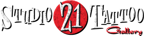 Logo studio 21 tattoo
