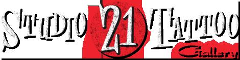 Logo studio 21 tattoo