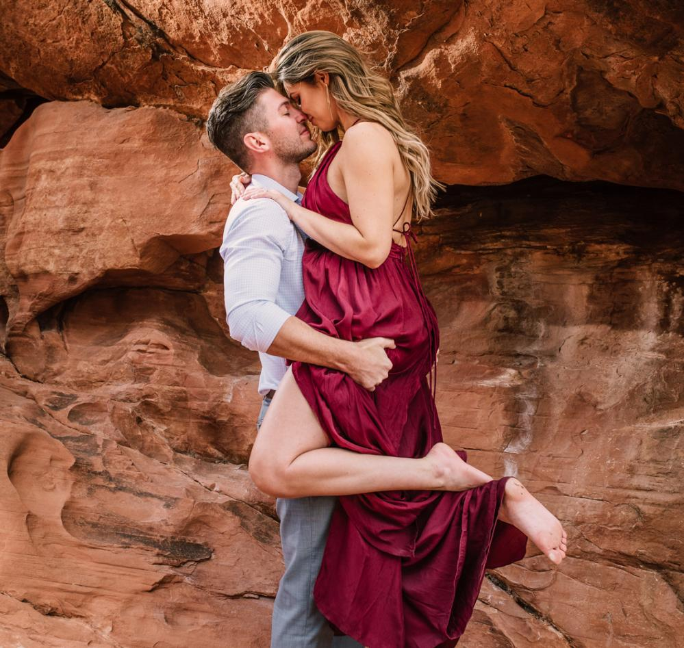 Red rock canyon mariage Las Vegas