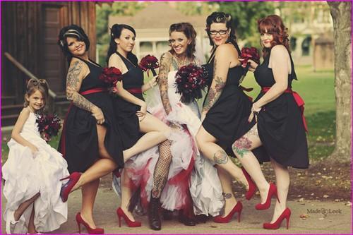 Rockabilly wedding1