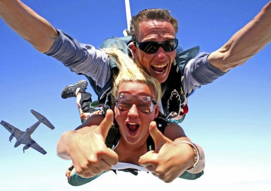 Skydive byron bay 2
